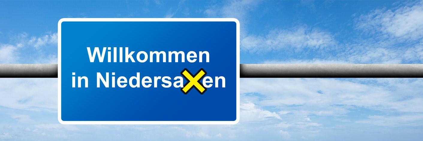 Willkommen in Niedersachsen